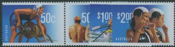 AUS SG2777-80 Year of Surf Lifesaving set of 4